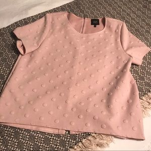 Trendy W5 top with zipper back, Size XL